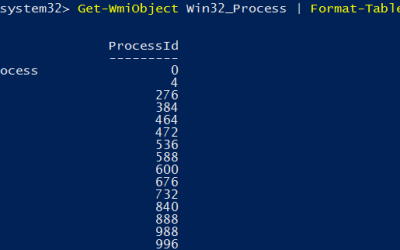 User Creeping with WMI Events