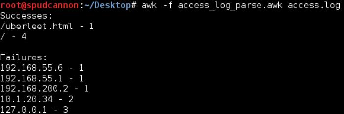 awk-script-file